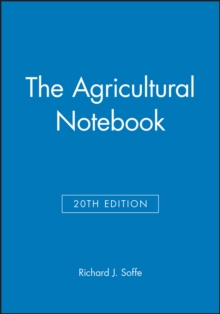 The Agricultural Notebook, Paperback Book