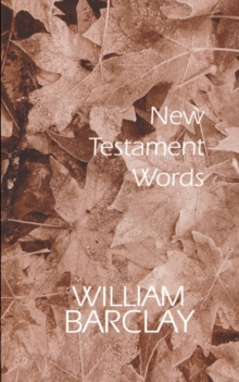New Testament Words, Paperback