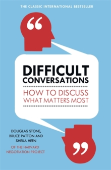 Difficult Conversations, Paperback Book