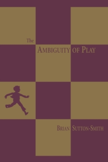 The Ambiguity of Play, Paperback