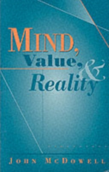 Mind, Value and Reality, Paperback