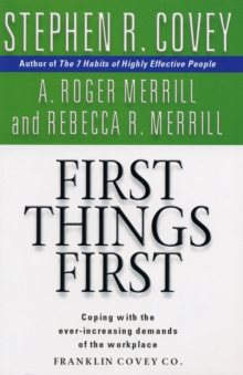 First Things First, Paperback