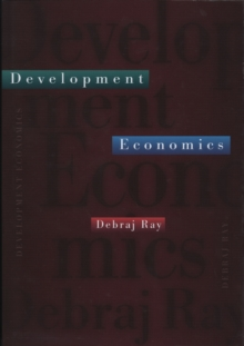 Development Economics, Hardback Book
