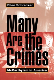 Many are the Crimes : McCarthyism in America, Paperback Book