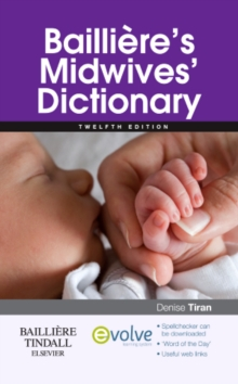 Bailliere's Midwives' Dictionary, Paperback