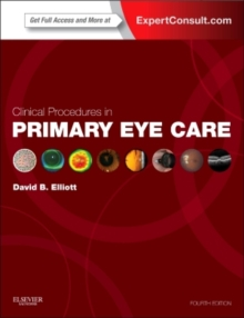 Clinical Procedures in Primary Eye Care, Mixed media product Book