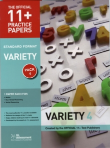 11+ Practice Papers, Variety Pack 4, Standard : Maths Test 4, Verbal Reasoning Test 4, Non-Verbal Reasoning Test 4, Paperback