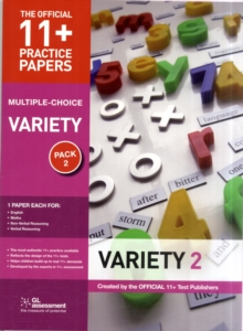 11+ Practice Papers, Variety Pack 2, Multiple Choice : English Test 2, Maths Test 2, Verbal Reasoning Test 2, Non-Verbal Reasoning Test 2, Paperback
