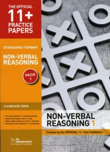 11+ Practice Papers, Non-verbal Reasoning Pack 1, Standard : Test 1, Test 2, Test 3, Test 4, Pamphlet