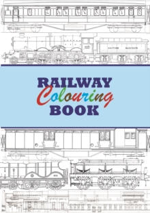 Railway Colouring Book, Paperback