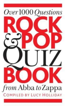 Rock and Pop Quiz Book, Paperback