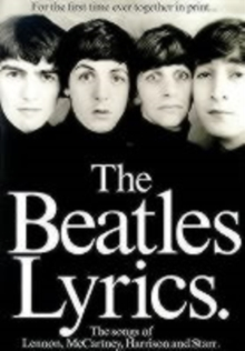 """The Beatles"" Lyrics, Paperback Book"