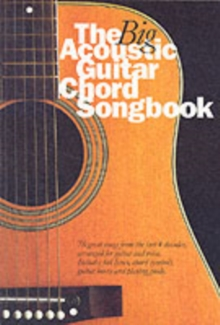 The Big Acoustic Guitar Chord Songbook, Paperback