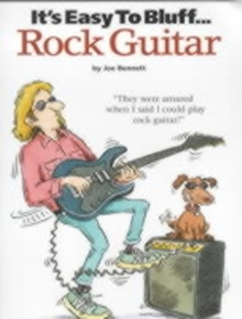 It's Easy to Bluff Rock Guitar, Paperback Book