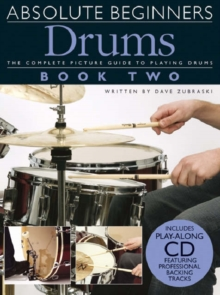 Absolute Beginners : Drums Book 2, Paperback Book