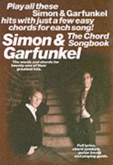 Simon and Garfunkel : The Chord Songbook, Paperback