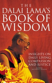 The Dalai Lama's Book of Wisdom, Paperback