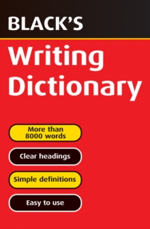 Black's Writing Dictionary, Paperback