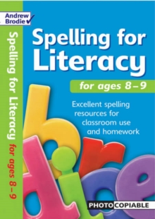 Spelling for Literacy for Ages 8-9, Paperback