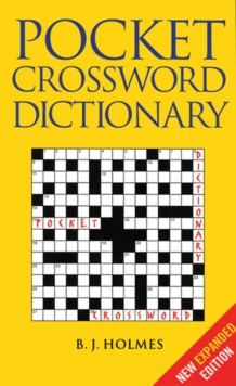 Pocket Crossword Dictionary, Paperback Book