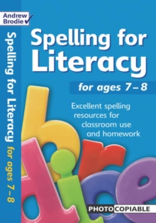 Spelling for Literacy : For Ages 7-8, Paperback