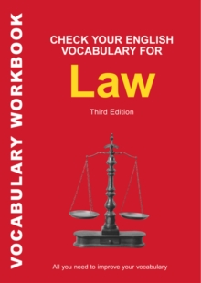 Check Your English Vocabulary for Law : All You Need to Improve Your Vocabulary, Paperback