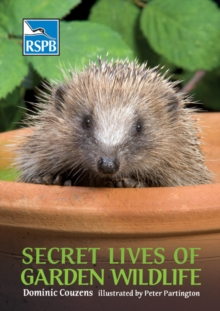 Secret Lives of Garden Wildlife, Paperback Book