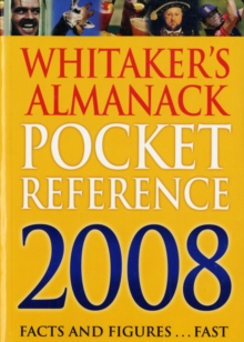 Whitaker's Pocket Reference, Paperback