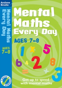 Mental Maths Every Day 7-8, Paperback