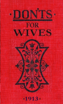 Don'ts for Wives, Hardback