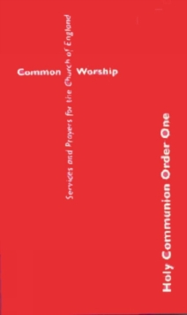 Common Worship : Order one, Paperback