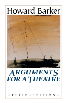 Arguments for a Theatre, Paperback