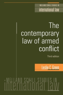 The Contemporary Law of Armed Conflict, Paperback