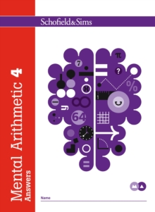 Mental Arithmetic 4 Answers, Paperback Book