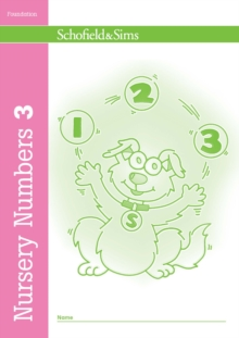 Nursery Numbers Book 3, Paperback