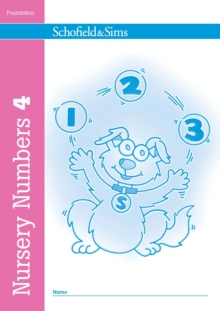 Nursery Numbers Book 4, Paperback