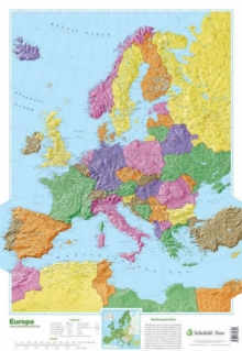 Map of Europe, Poster