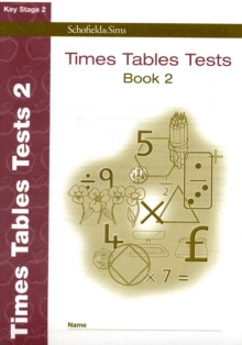 Times Tables Tests Book 2, Paperback