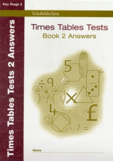 Times Tables Tests Answer Book 2, Paperback