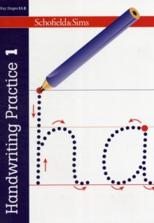 Handwriting Practice Book 1, Paperback