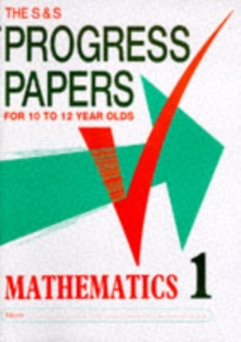 Progress Papers in Mathematics 1, Paperback
