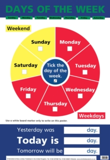 Days of the Week, Poster