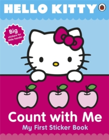 Hello Kitty Count with Me Sticker Book, Paperback