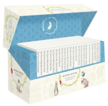 The World of Peter Rabbit - the Complete Collection of Original Tales 1-23 White Jackets, Multiple-item retail product Book