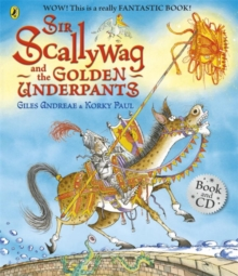 Sir Scallywag and the Golden Underpants Book and CD, Mixed media product