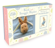 Peter Rabbit Book and Snuggle Blanket, Mixed media product