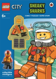 LEGO City: Sneaky Sharks Activity Book with Minifigure, Paperback