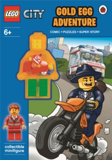 LEGO City: Gold Egg Adventure Activity Book with Minifigure, Paperback