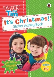It's Christmas! A Ladybird Topsy and Tim Sticker Activity Book, Paperback Book