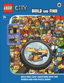 Lego City: Build and Find With Minifigure, Hardback